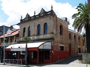 Photo of the outside of Baroona Hall, current day.