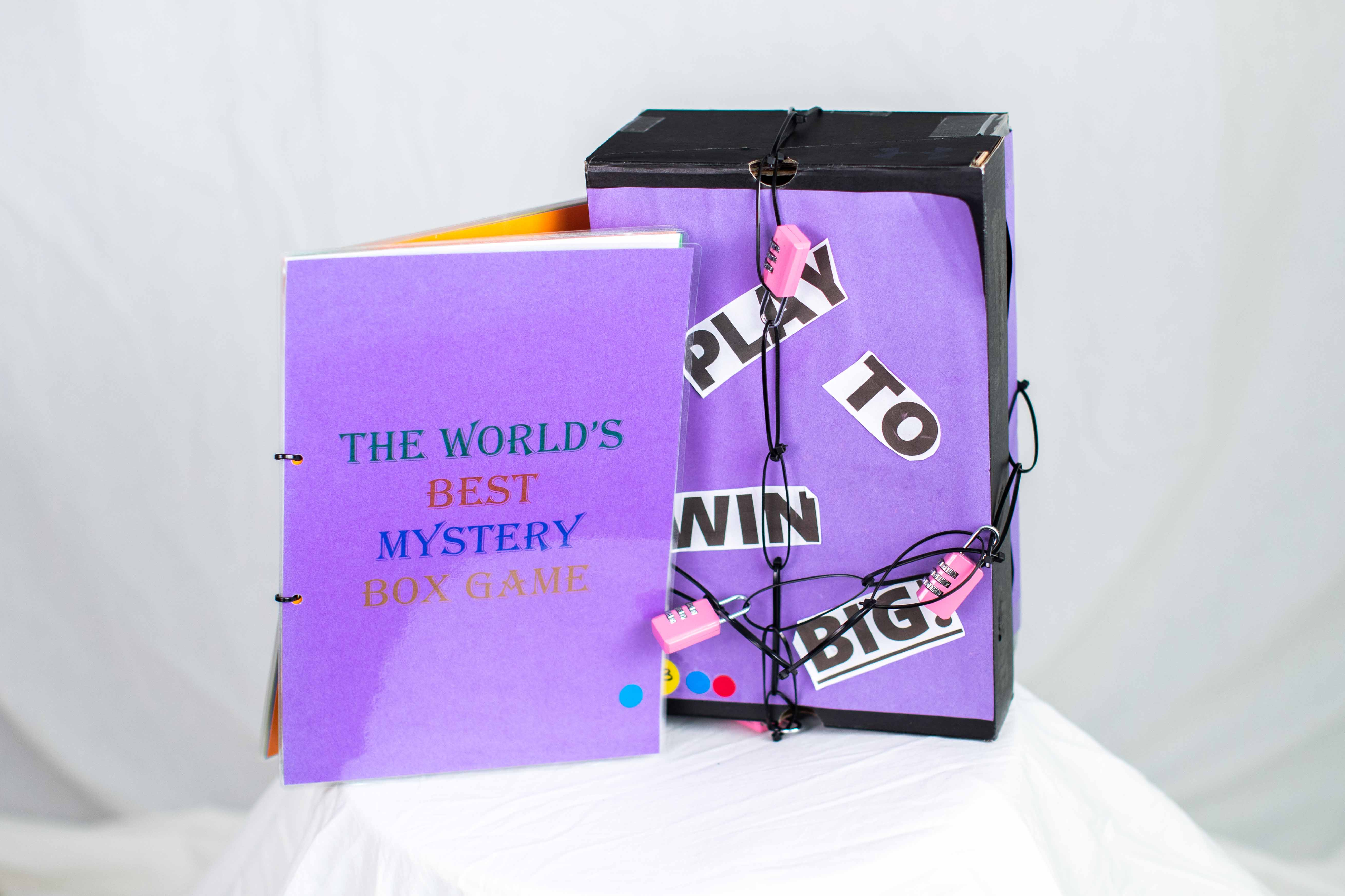 Grace's Puzzle Box and Question booklet