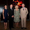The Prince of Wales and The Duchess of Cornwall with former Queensland Premier Campbell Newman and his wife, Lisa Newman.