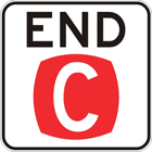 End clearway sign