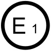 ECE 22.05 standard approved helmet label