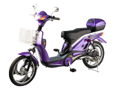 An image of an illegal moped
