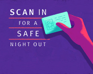 Scan in for a safe night out