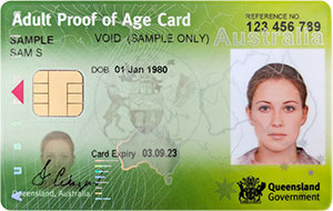 identification number on drivers license australia