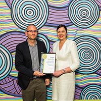 2017 Queensland Reconciliation Awards—Partnership award finalist—Economic Development Queensland and Palm Island Aboriginal Shire Council for Palm Island Regional Liveability Project