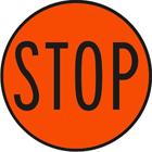 Hand-held stop sign