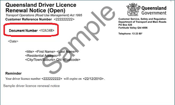 Does Driver S License Number Include Letter