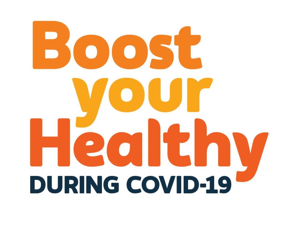 Support, inspiration and ideas to stay healthy and active at home during COVID-19