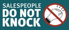 Do-not-knock