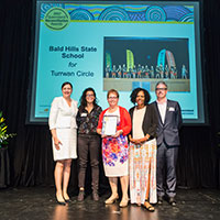 2017 Queensland Reconciliation Awards—Education award highly commended—Bald Hills State School for Turrwan Circle