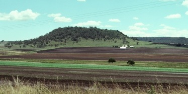 Using land according to its capability: the steeper slopes and shallower soils suitable for growing pastures, and the lower slopes and deeper soils suitable for growing crops.