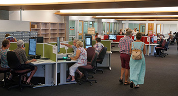 Queensland State Archives 'Reading Room