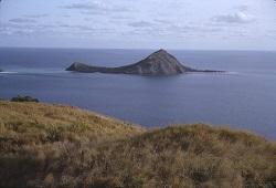 Dauan Island from Mer Island c. 1960