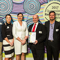 2017 Queensland Reconciliation Awards—Business award finalist—BMD Group