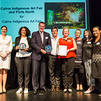 2017 Queensland Reconciliation Awards—Partnership award winner—Cairns Indigenous Art Fair and Ports North