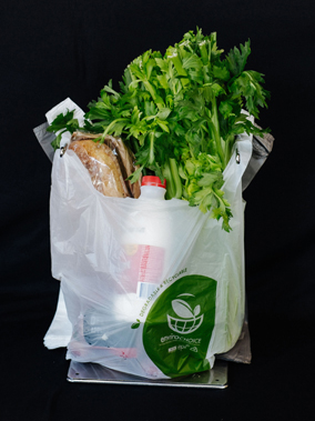 Compostable, degradable and biodegradable lightweight plastic shopping bags