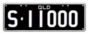 Standard S plate