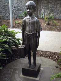Forgotten Australians child statue