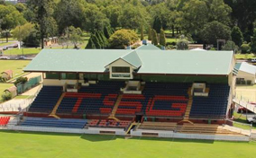 Toowoomba Sports Ground grandstand.