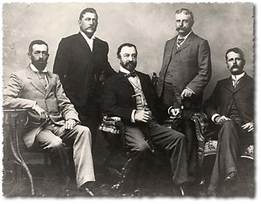 Surveyors Board of Examiners from 1898