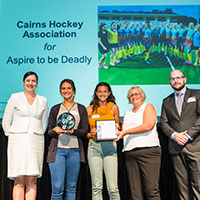 2017 Queensland Reconciliation Awards—Community award winner—Cairns Hockey Association for Aspire to be Deadly