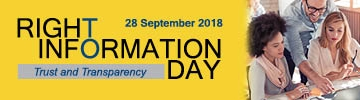 Right to Information Day banner