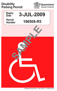 Parking permits | People with disability | Queensland Government