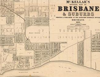 McKellar's map of Brisbane