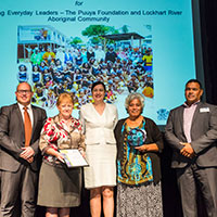 2017 Queensland Reconciliation Awards—Premier's Reconciliation Award winner—Puuya Foundation