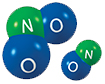 Nitrogen oxides molecules