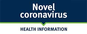 Novel coronavirus health information