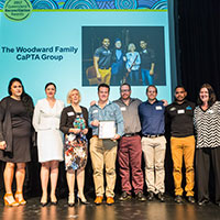 2017 Queensland Reconciliation Awards—Business award winner—The Woodward Family CaPTA Group