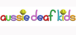 Aussie Deaf Kids logo.