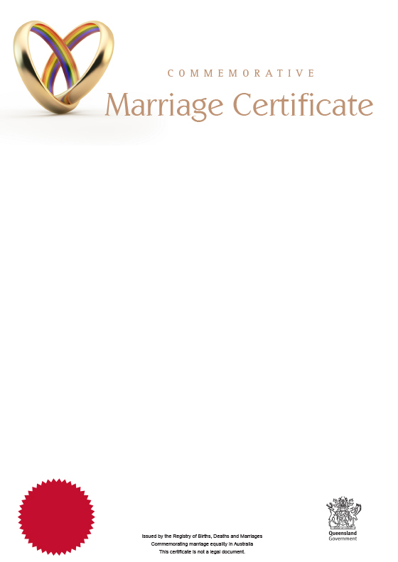 Queensland commemorative marriage certificates your rights crime httpsqldlawassetsimagesbirth deaths marriages and divorcecertificatesmarriage a4marriage everlastingg yadclub Choice Image